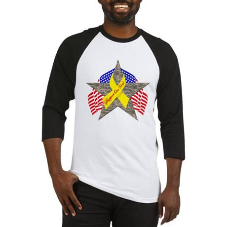 Support Our Troops Star Baseball Jersey
