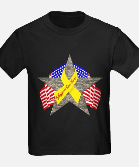 Support Our Troops Star T