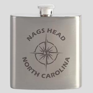 North Carolina - Nags Head Flask
