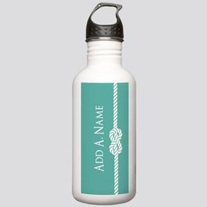 Turquoise Custom Perso Stainless Water Bottle 1.0L
