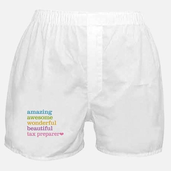 Tax Preparer Boxer Shorts