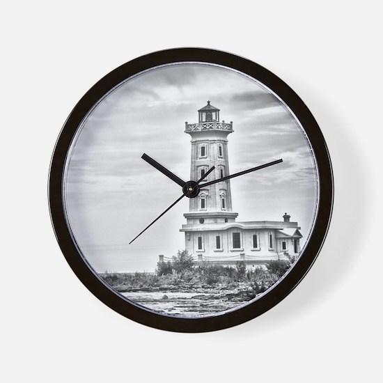 Point Abino 1 Wall Clock