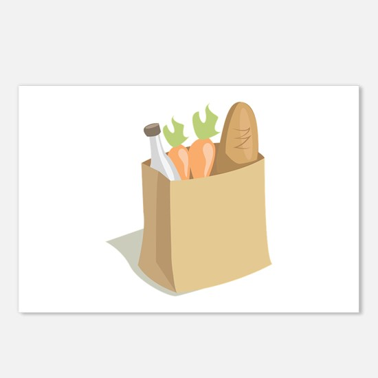 Groceries_Base Postcards (Package of 8)