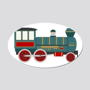 Train Engine Wall Decal
