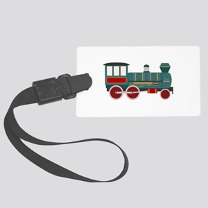 Train Engine Luggage Tag