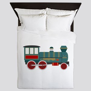 Train Engine Queen Duvet
