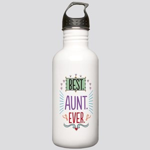 Best Aunt Ever Stainless Water Bottle 1.0L