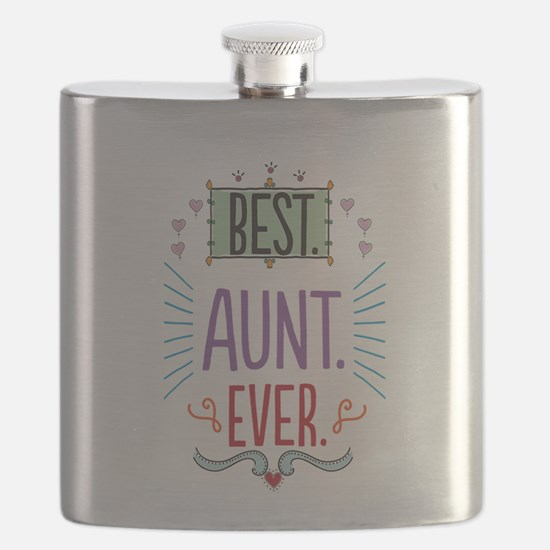 Best Aunt Ever Flask