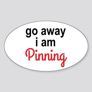 I am Pinning Sticker