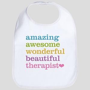 Awesome Therapist Bib