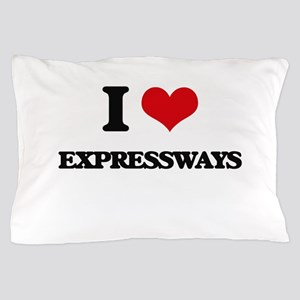 I love Expressways Pillow Case