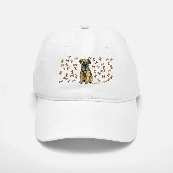 Border Terrier Bone! Baseball Baseball Cap