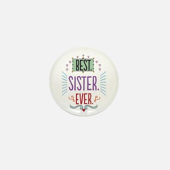 Sister Mini Button