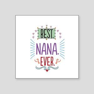 """Nana Square Sticker 3"""" x 3"""""""