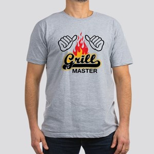 Grill Master Men's Fitted T-Shirt (dark)