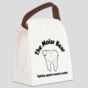 The Molar Bear Canvas Lunch Bag