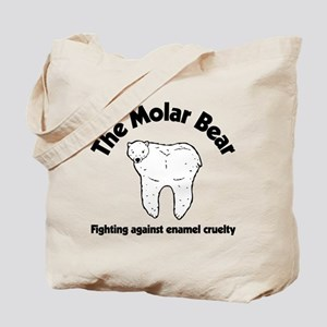 The Molar Bear Tote Bag