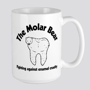 The Molar Bear 15 oz Ceramic Large Mug