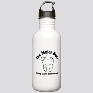 The Molar Bear Stainless Water Bottle 1.0L