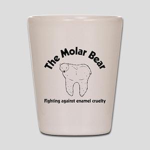 The Molar Bear Shot Glass