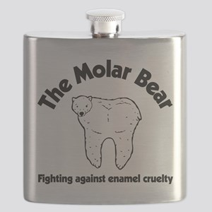 The Molar Bear Flask