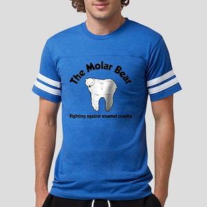 The Molar Bear Mens Football Shirt