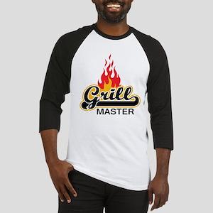Grill Master Baseball Jersey