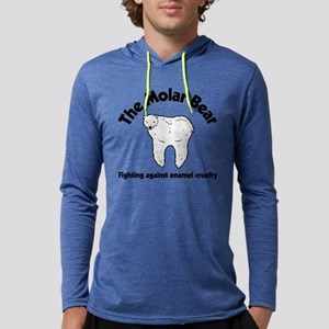 The Molar Bear Mens Hooded Shirt