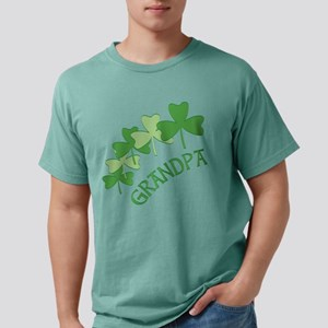 Grandpa Irish Shamrocks T-Shirt