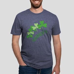 Grandpa Irish Shamrocks T-Shirt