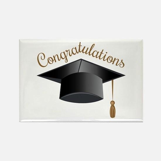 Congratulations Cap Magnets
