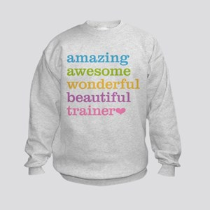 Awesome Trainer Kids Sweatshirt