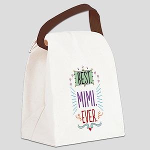 Mimi Canvas Lunch Bag