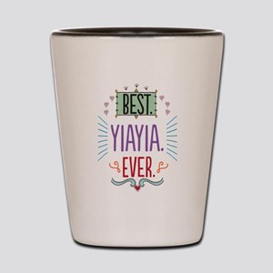Yiayia Shot Glass