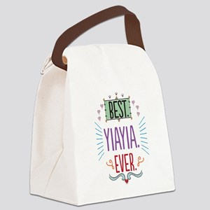 Yiayia Canvas Lunch Bag
