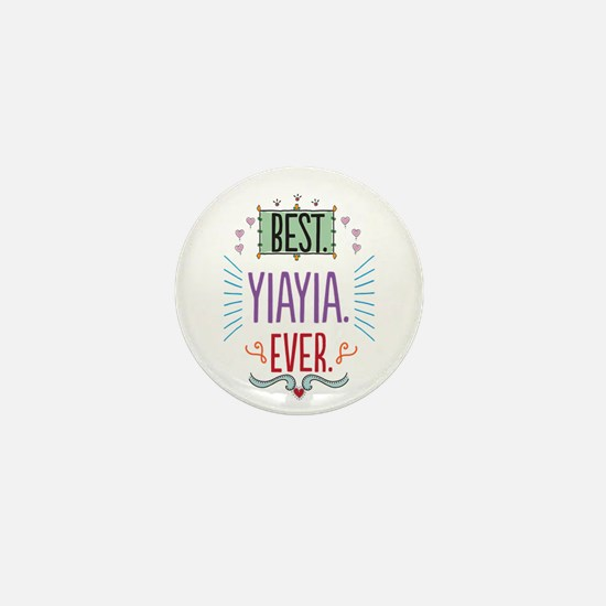 Yiayia Mini Button