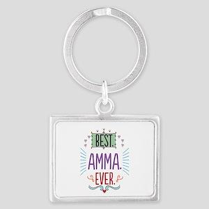 Amma Landscape Keychain