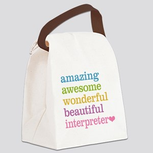 Interpreter Canvas Lunch Bag