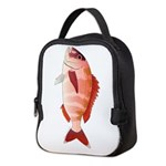 Red Porgy Neoprene Lunch Bag