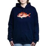 Red Porgy Women's Hooded Sweatshirt