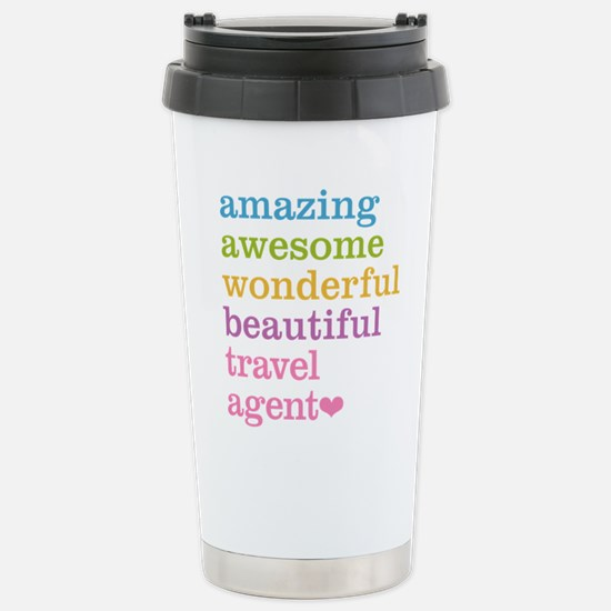 Travel Agent Stainless Steel Travel Mug