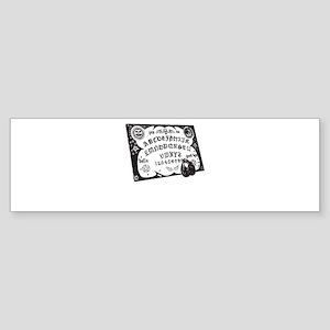 Ouija Bumper Sticker