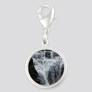 Manor Kill Falls 2 Silver Round Charm