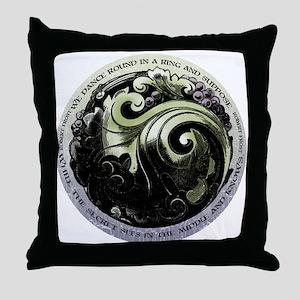 """""""Robert Frost-The Secret"""" Throw Pillow"""