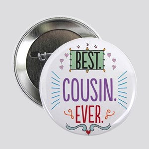 "Cousin 2.25"" Button"