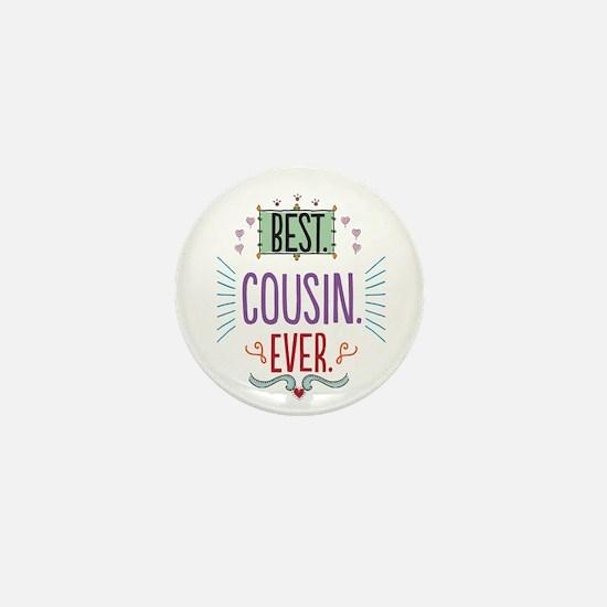 Cousin Mini Button
