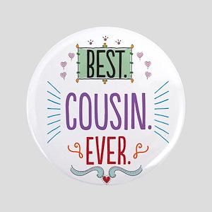 "Cousin 3.5"" Button"