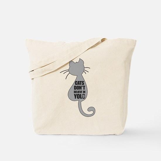 Cats YOLO Tote Bag