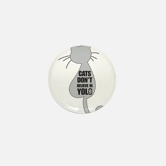 Cats YOLO Mini Button
