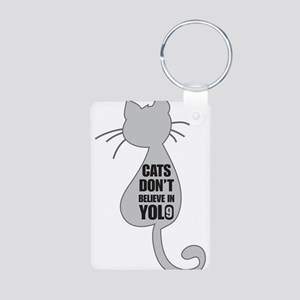 Cats YOLO Keychains